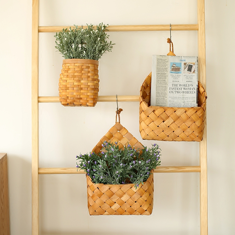 Hanging Chipwood Basket