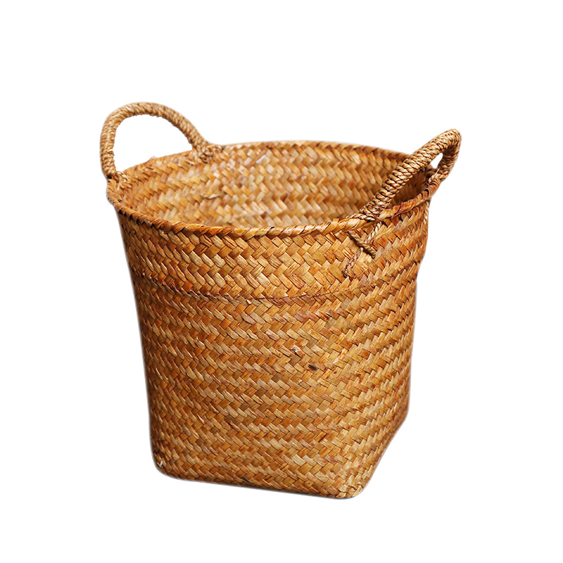 Seagrass toy basket